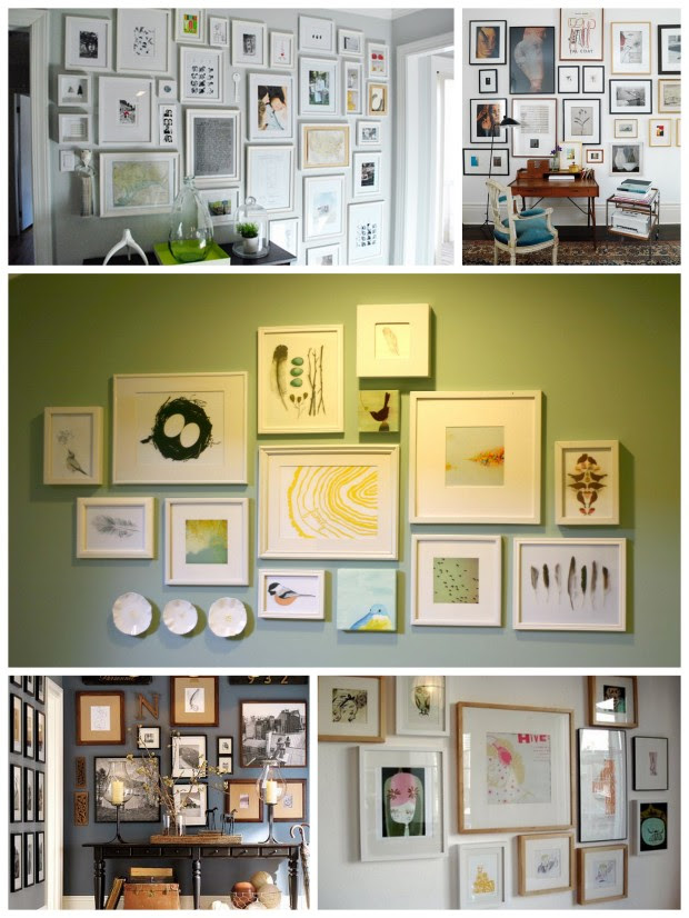 How To: IKEA Ribba Frame Gallery Wall