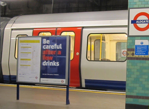 Tube Alcohol Poster