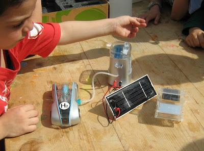 macchinette solari e fuel cell