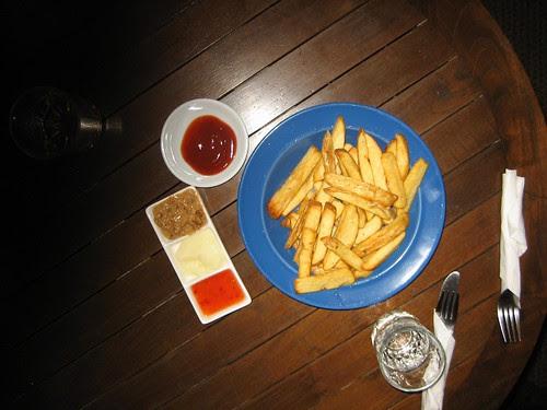 big bowl of chips at las vegan nirvana