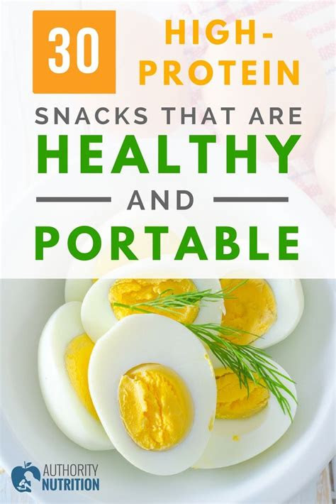 high protein snacks   healthy  portable