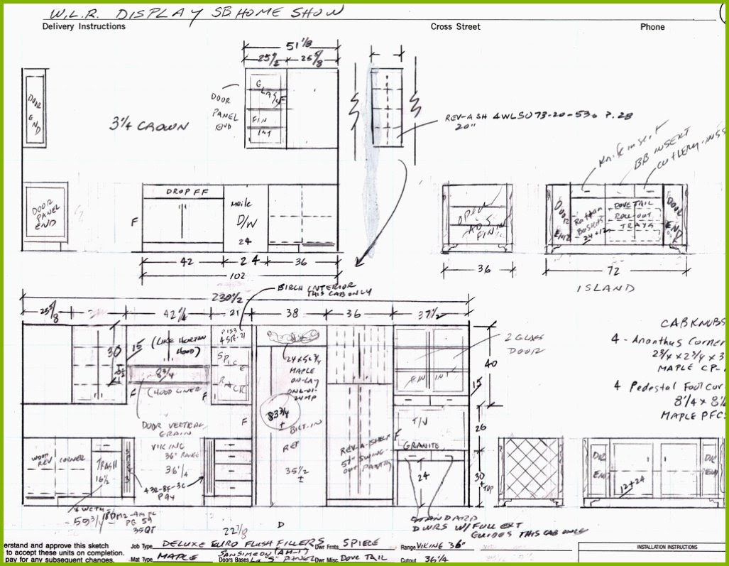 Cabinet Detail Drawing at GetDrawings | Free download