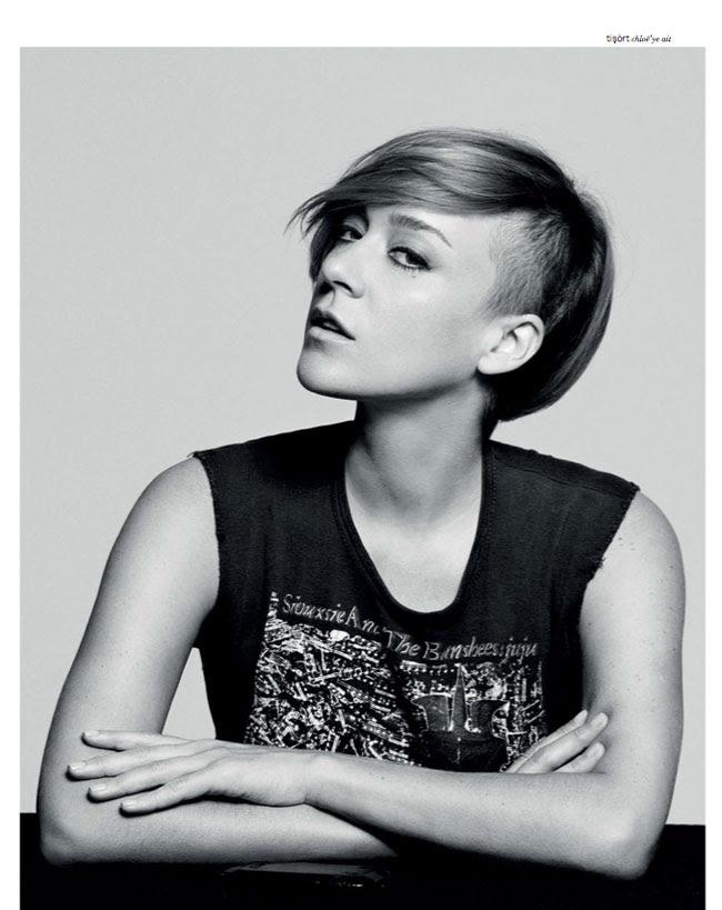 chloe sevigny2 Chloe Sevigny Covers XOXO The Mags September Issue with Modern Style