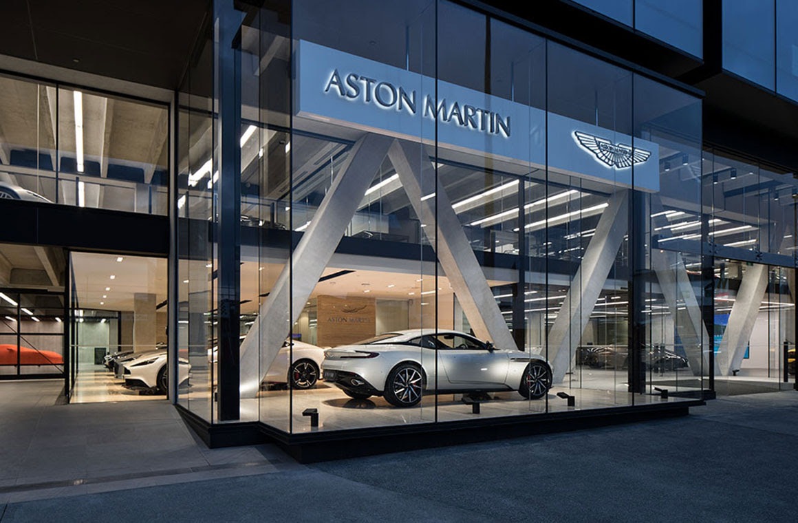 Aston Martin Unveils New Auckland Showroom And Delivers Vantage Red Bull Racing Special Edition To New Zealand