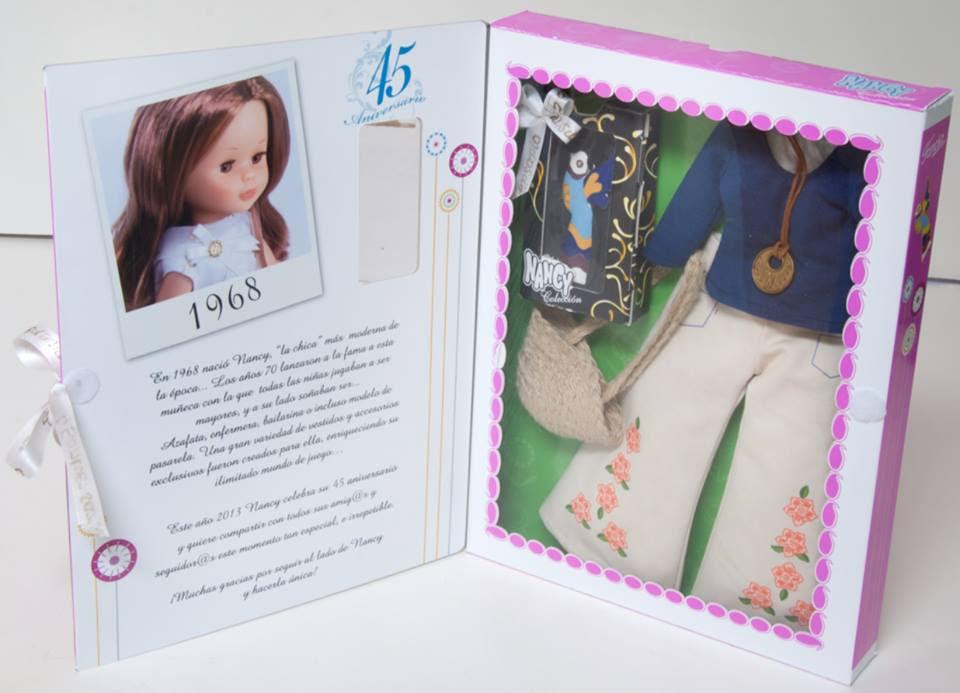 Foto vestido hippie muñeca Nancy colección 45 aniversario