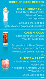 Awesome Cake Vodka Recipes Three Olives Cake Recipe Funny Birthday Cards Online Inifofree Goldxyz