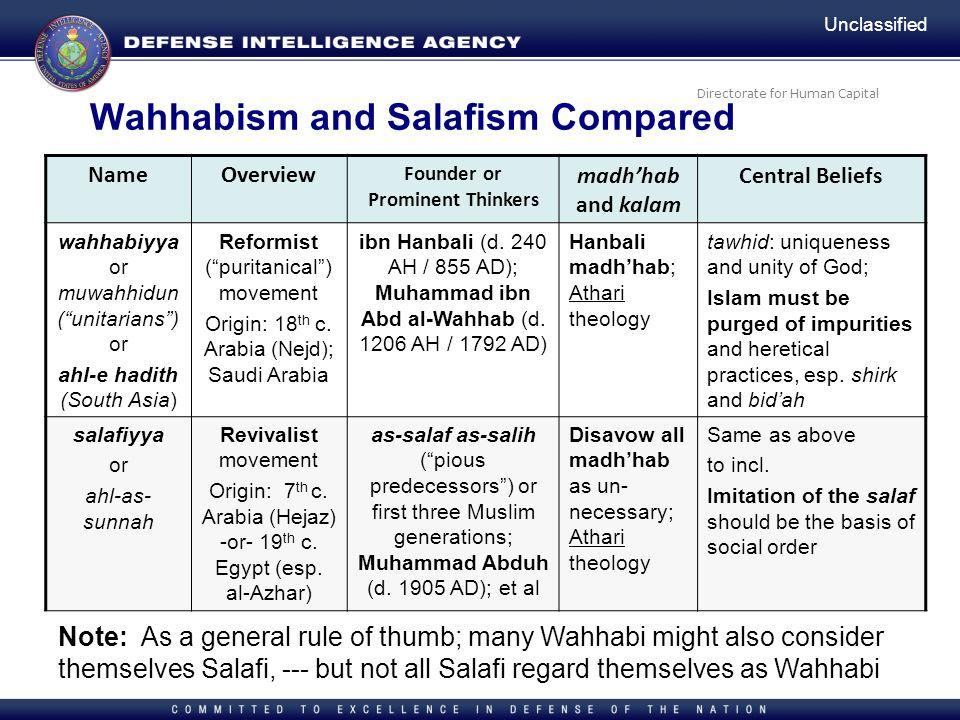 Risultati immagini per wahhabism salafism