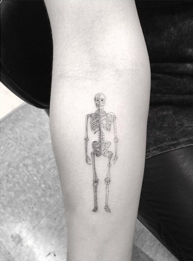 50 Marvelous Dr Woo Tattoo Designs Fine Body Art From A Legend