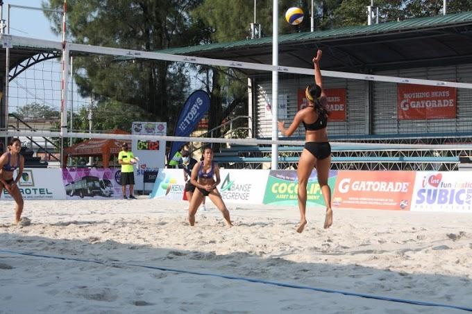 Abanse Negrense A advances to PSL beach volley semis