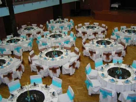 Turquoise blue/Brown Wedding   YouTube
