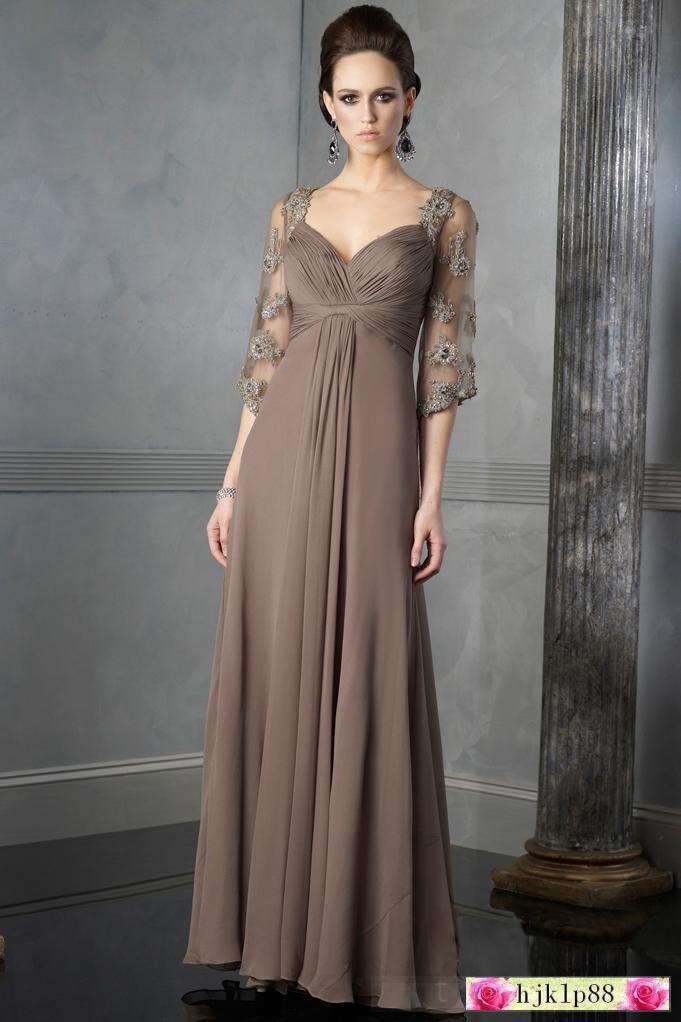 Wedding dresses evening style