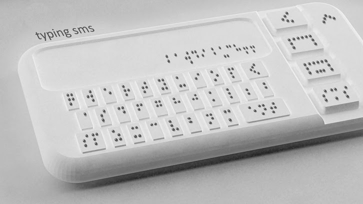 First Braille Smartphone in the Works