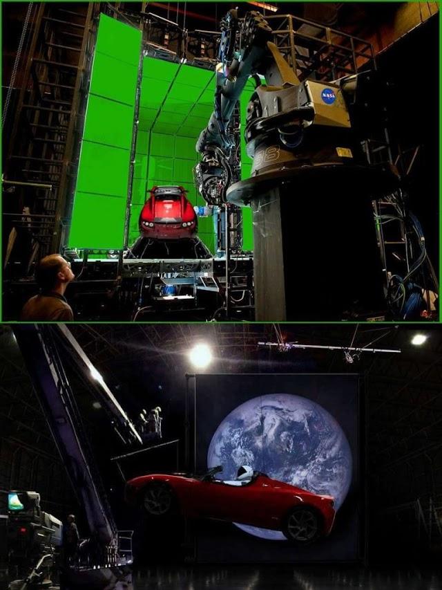 Το Tesla πήγε στο φεγγάρι με το  ίδιο δρομολόγιο που πήγε και η ΝΑΣΑ;