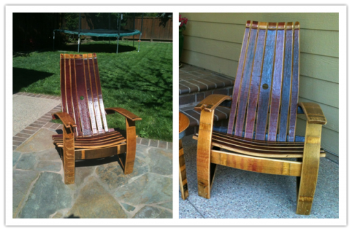 How To Build A Diy Wine Barrel Adirondack Chair How To Instructions