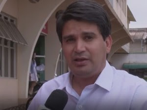 Emylson Farias diz que segurança nos presídios deve ser reforçada (Foto: Reprodução/Rede Amazônica Acre)