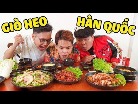 Cay chảy nước mắt với món giò heo Hàn Quốc cùng Sơn Đù và Mazk (Oops Banana)