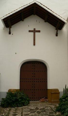 Restauración Monasterio Santa Isabel la Real, Albaicín, Granada. Puerta Reglar, estado anterior.