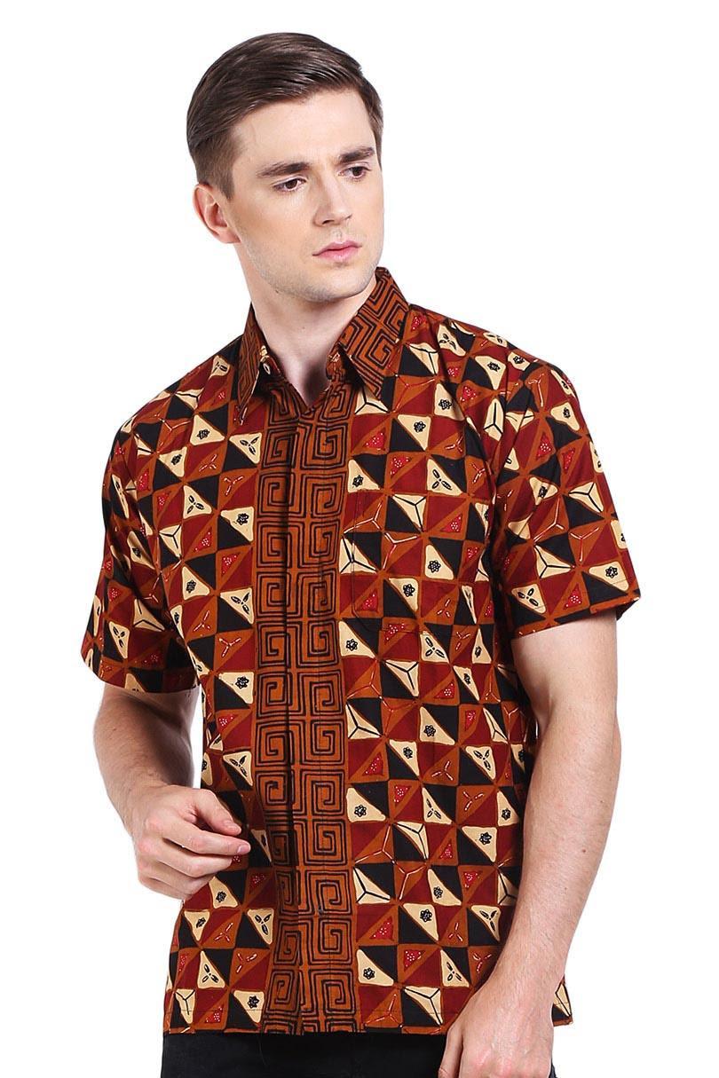 ... Canting Hijau Men Ethnic Wear Pria Etnis Wear Chocolate Cokelat Batik Diskon discount murah bazaar baju