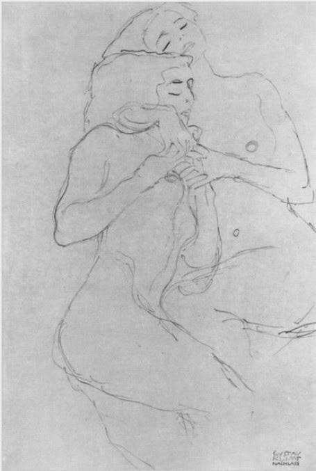 Gustav Klimt erotica sensual15