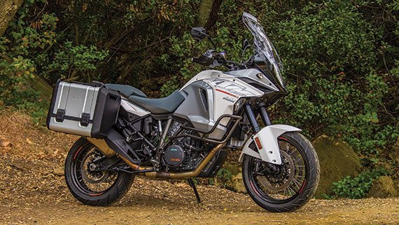 As long as you're happy with chain final drive, the Super Adventure is one of the most capable bikes in its class.