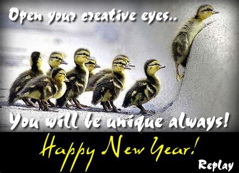 Unique New Year Wish! Free Happy New Year eCards, Greeting