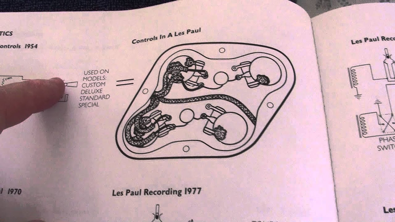 Gibson Les Paul wiring diagrams - YouTube