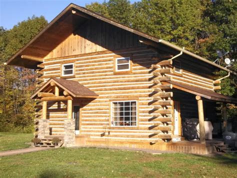 basic steps  build  log cabin  hand diy
