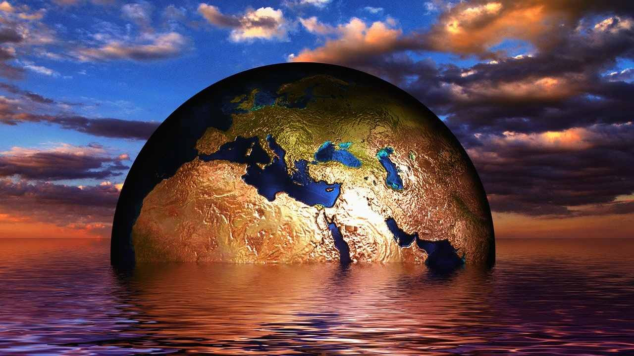 The twin threats of COVID-19 and climate change are, above all, caused by human actions. mage credit: Pixabay