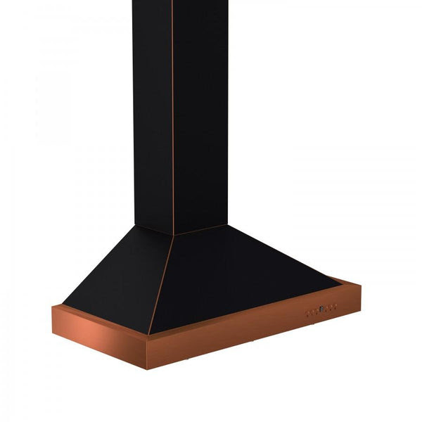 "ZLINE 30"" Oil-Rubbed Bronze Wall Range Hood, KB2-BCXXX-30"