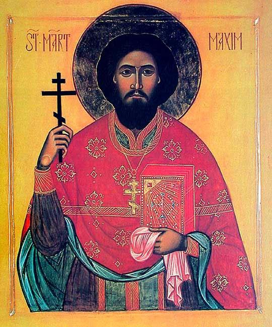 IMG ST. MAXIM Sandovich, Hieromartyr