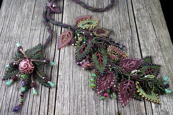 Beautiful Russian Leaf necklace