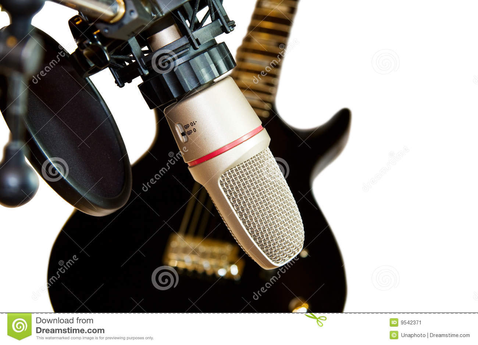 Black and White Recording Studio