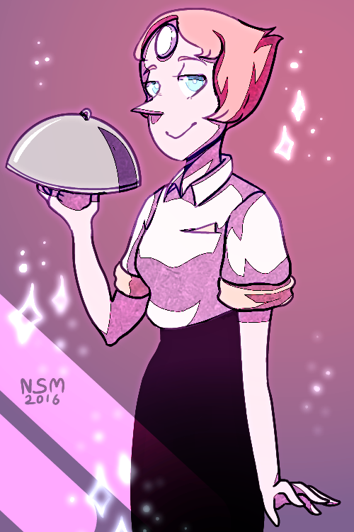 People are freaking out over Pearl in a suit, but I'm here freaking out OVER HOW BEAUTIFUL SHE LOOKS IN A BAGGY SHIRT WITH HIGH WAIST PANTS LIKE OMG. She is an absolute beauty, ein't she? So I had to...
