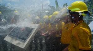 La estación de bomberos de Bibrí fue inaugurada este año.