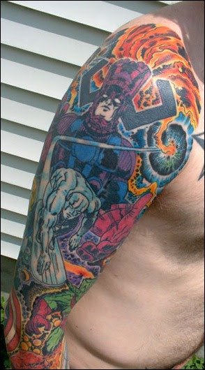 Great Comic Book Tattoos Comic Book Critic