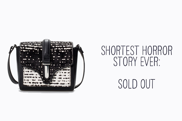 That was a shit idea, sold out, drama, bag, zara, sale, black and white, designer bag, pony hair, color block, fashion blogger, belgium, belgie, mode blogger, blog post, inspiration
