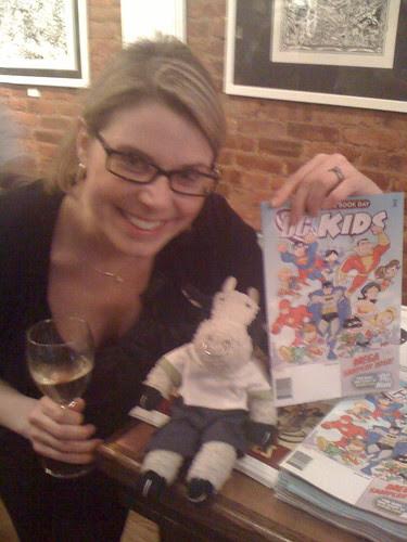 Amy Adams and me at FCBD!