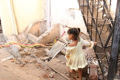 Hope Lies In Ruins In Bandra Slums by firoze shakir photographerno1