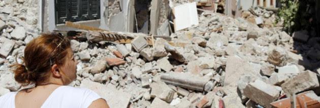 Σεισμός στη Μυτιλήνη: Βομβαρδισμένο τοπίο η Βρίσα! Συγκλονιστικές εικόνες από drone