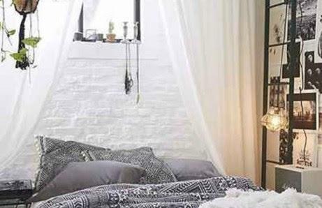 Οι κουρτίνες χαρίζουν στιλ και ρομαντισμό σε έναν χώρο