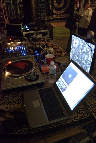 Two turntables and a youtube feed