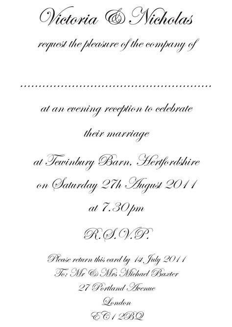 wedding invitation message2   Wedding   Formal wedding