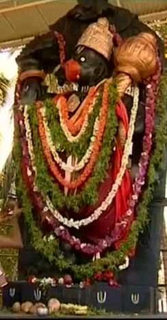 ketuhalli temple, Dhanvanthari Ganapati, Sanjeevani Anjaneya, Devaraj Kothari. ಸಂಜೀವಿನಿ ಆಂಜನೇಯ, ಧನ್ವಂತರಿ ಗಣಪತಿ, ಕೇತುಹಳ್ಳಿ. ರಾಮನಗರ, Ramnagar