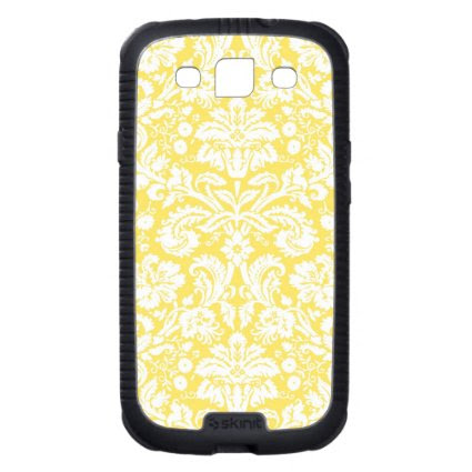 Samsung Lemon Damask Pattern Galaxy SIII Cover