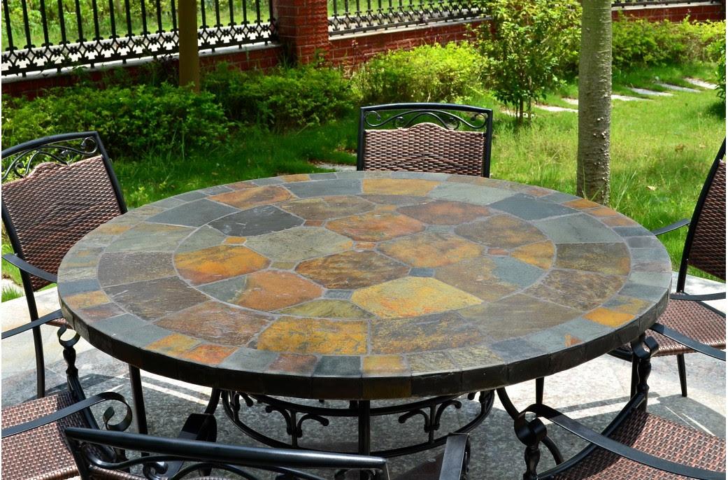 Table et chaises de terrasse: Tables rondes de jardin