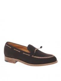 Lodger Halliday Nubuck Tassel Slip-on Loafers