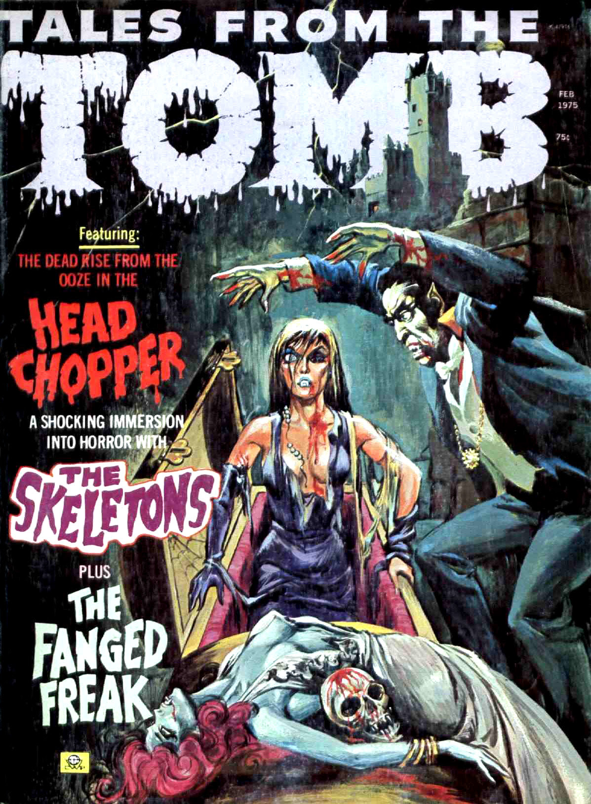 Tales from the Tomb - Vol. 7 #1 (Eerie Publications, 1975)