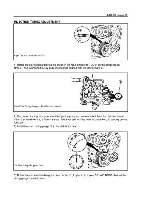 4jb1 engine timing marks - OurClipart