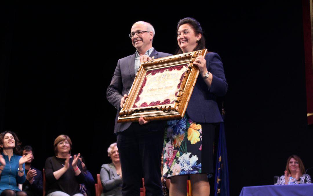 Dolores Fenor Miñarro nombrada Hija Adoptiva de la ciudad de Villena