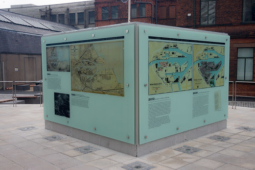 Titanic Belfast is an iconic six-floor building featuring nine interpretive galleries by infomatique